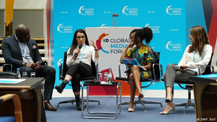 Plenary Session: Who's got the power in the media landscape? at the Global Media Forum 2019