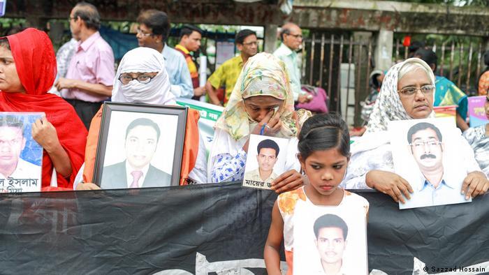 Bangladesch Dhaka Menschenrechtsorganisation Odhikar zu Verschwundenen (Sazzad Hossain)
