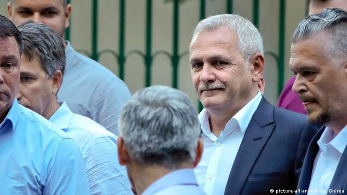 Liviu Dragnea (picture-alliance/AP/V. Ghirda)