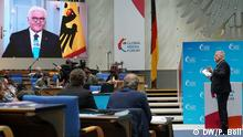 Live-Video-Conference: Peter Limbourg - Frank-Walter Steinmeier