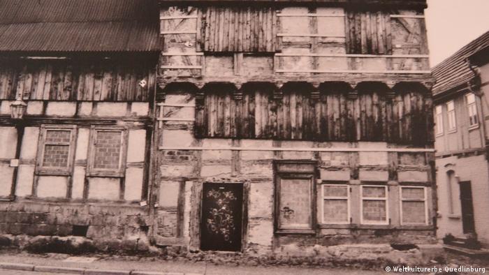 Verfallenes Fachwerkhaus