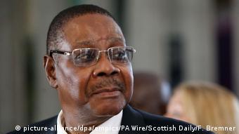 Schottland | Präsident von Malawi Peter Mutharika zu Besuch in Edinburgh