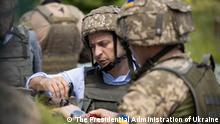 President of Ukraine Volodymyr Zelenskyy visited the frontline positions of the Armed Forces of Ukraine in Luhansk region