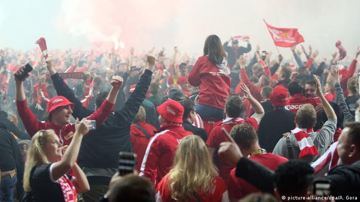 Bundesliga Relegation Playoff - Union Berlin v VfB Stuttgart   Feier Union Berlin