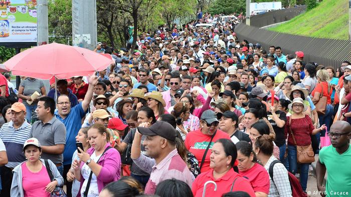 Honduras Proteste (AFP/G. Cacace)