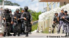 Brasilien Aufruhr in Gefängnisse