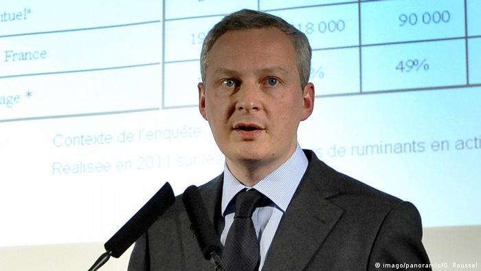 Bruno Le Marie | französischer Finanzminister