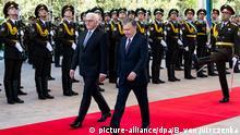 Bundespräsident Steinmeier in Usbekistan