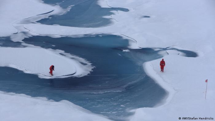 Німецькі вчені досліджують танення льоду в Арктиці