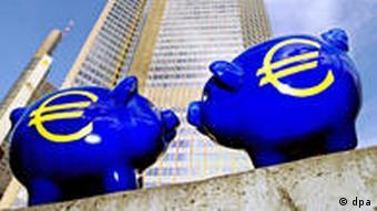 Symbolbild Sparen EU SParschwein
