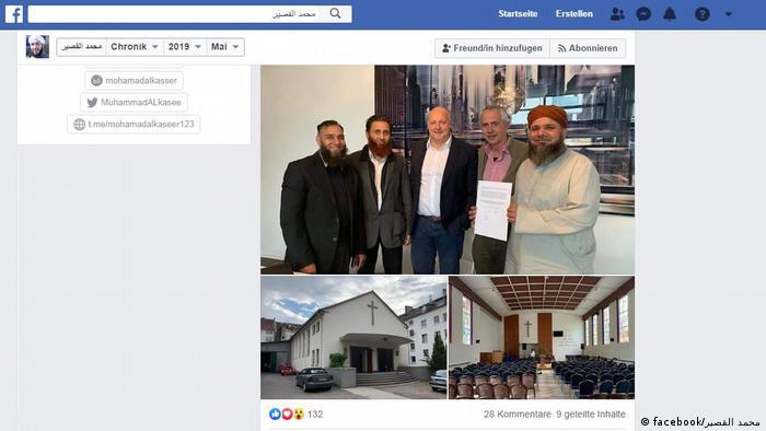 Screenshot Facebook | Umwandlung einer Kirche zur Moschee in Hagen