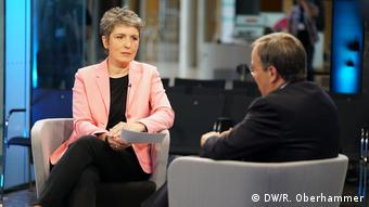 04 | Interview Armin Laschet, Ines Pohl (DW/R. Oberhammer)
