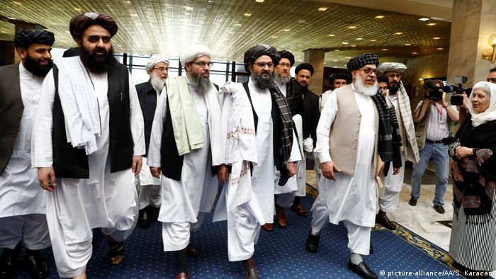 Taliban talks in Moscow, Russia, last month
