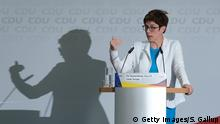 Berlin PK Annegret Kramp-Karrenbauer CDU (Getty Images/S. Gallup)