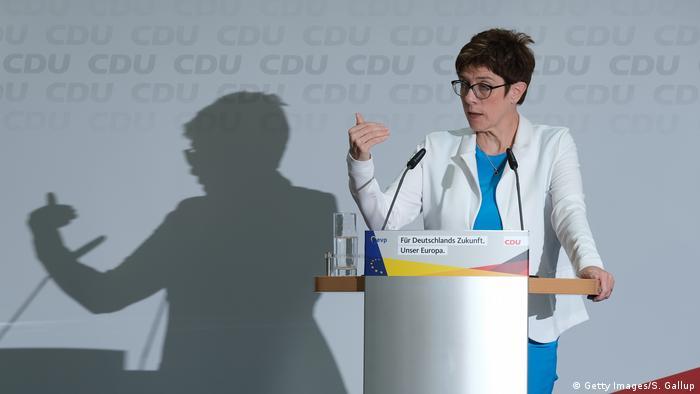 Berlin: Annegret Kramp-Karrenbauer CDU