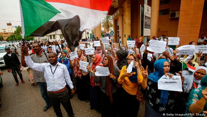 Sudan | Streik (Getty Images/AFP/A. Shazly)