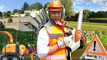 DW Vlog Entdecke Deutschland mit Mykhailo Malyi, Folge 14: Baumpflege