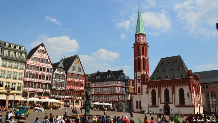 Deutschland | Frankfurt am Main | Alte Nikolaikirche (DW/M.Linardy)