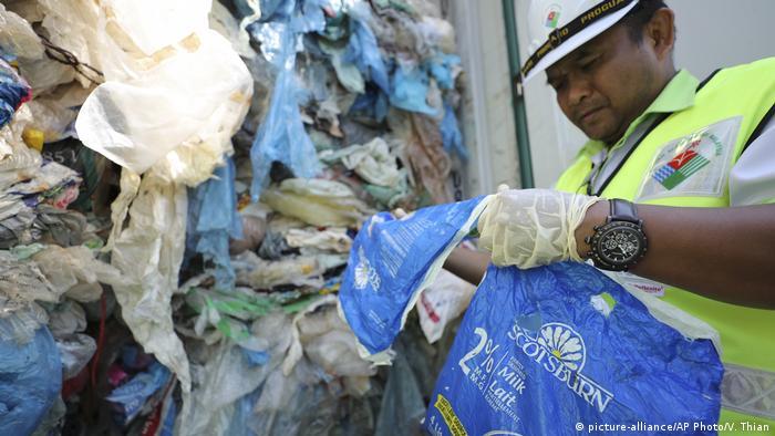 Plastic waste in Kuala Lumpur