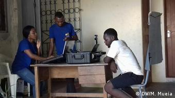 Wählerregistrierung in Mosambik