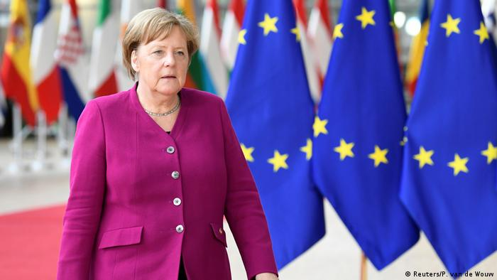 Merkel in Brussels for the post-election summit