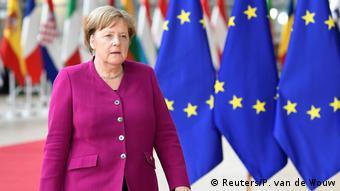 EU-Gipfel | EU-Wahlen | Merkel (Reuters/P. van de Wouw)