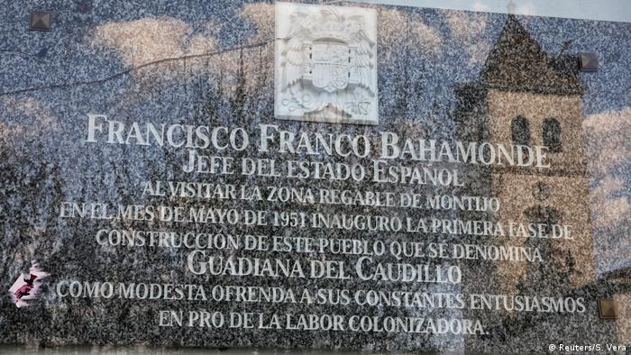 Spanien: Ortschaft Guadiana del Caudillo