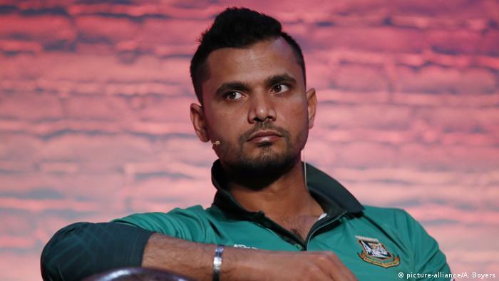 Cricket Spieler Bangladesch: Mashrafe Mortaza (picture-alliance/A. Boyers)