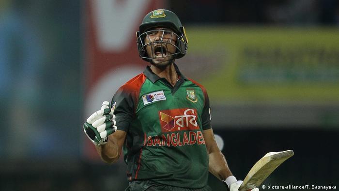 Cricket Spieler Bangladesch: Mustafizur Rahman (picture-alliance/T. Basnayaka)