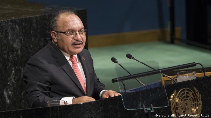 Papua Neu Guinea Peter O'Neill (picture-alliance/AP Photo/C. Ruttle)