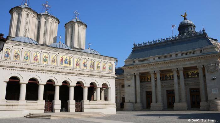 Palatul Patriarhiei, București (DW/C. Ștefănescu)