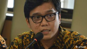 Peneliti keamanan LIPI, Muhamad Haripin