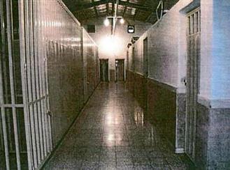 درون یکی از بندهای زندان کهریزک