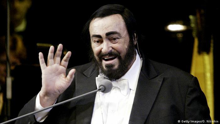 Opernsänger Luciano Pavarotti