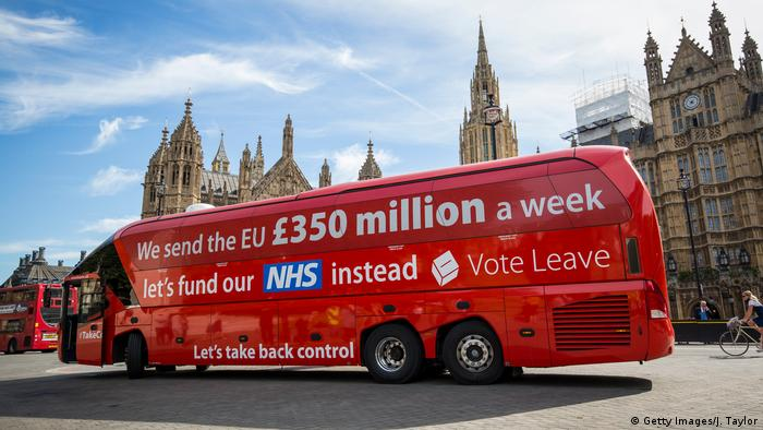 Boris Johnson's Brexit Battlebus (Getty Images/J. Taylor)