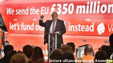 Boris Johnson Brexit Referendum Kampagne