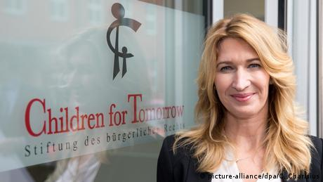 Steffi Graf Stiftung Children for Tomorrow (picture-alliance/dpa/C. Charisius)