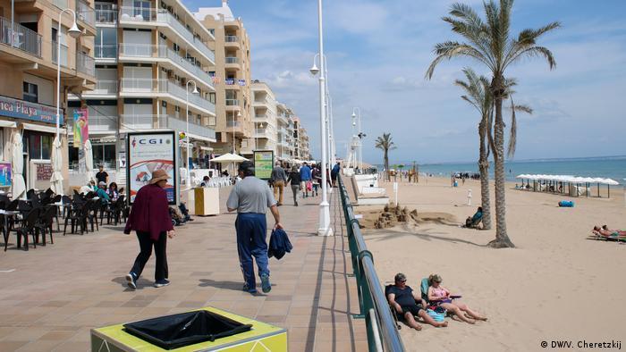 Spanien Stadt Guardamar, Alicante