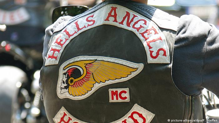 Hells Angels member's jacket