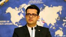 Abbas Mousavi, Sprecher des iranischen Aupenministeriums