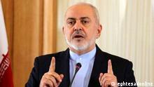 Iran Außenminister Mohammad Javad Zarif