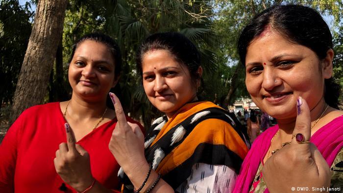Indien Parlamentswahlen (DW/O. Singh Janoti)