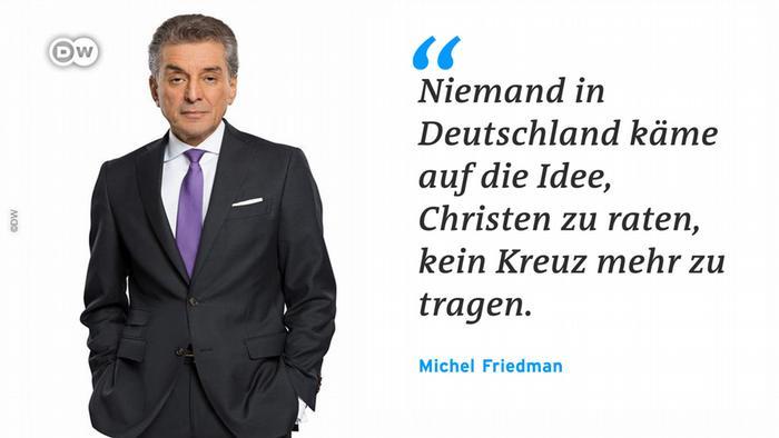 DW-Zitat-Tafel Michel Friedman