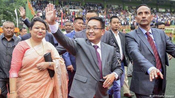 Indien | Sikkim | Prem Singh Golay (AFP/Getty Images)