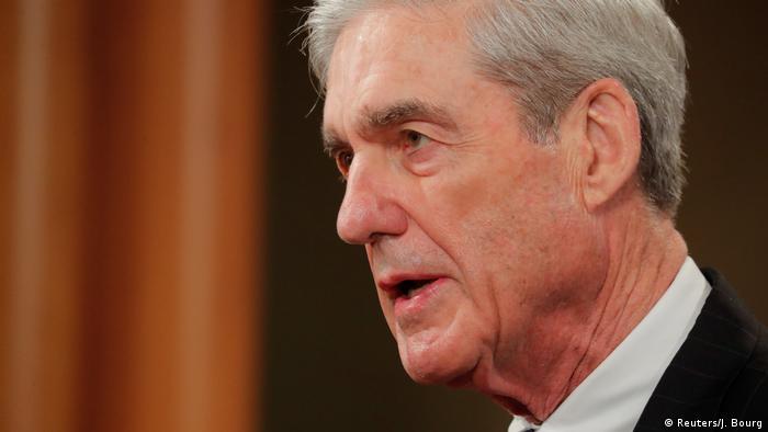 USA PK vom US-Sonderermittler Robert Mueller in Washington (Reuters/J. Bourg)