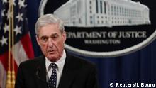 U.S. Special Counsel Robert Mueller makes a statement on his investigation into Russian interference in the 2016 U.S. presidential election at the Justice Department in Washington, U.S., May 29, 2019. REUTERS/Jim Bourg