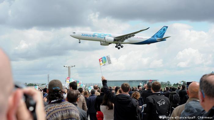 Під час святкування 50-річчя Airbus у Тулузі, 29 травня 2019 року