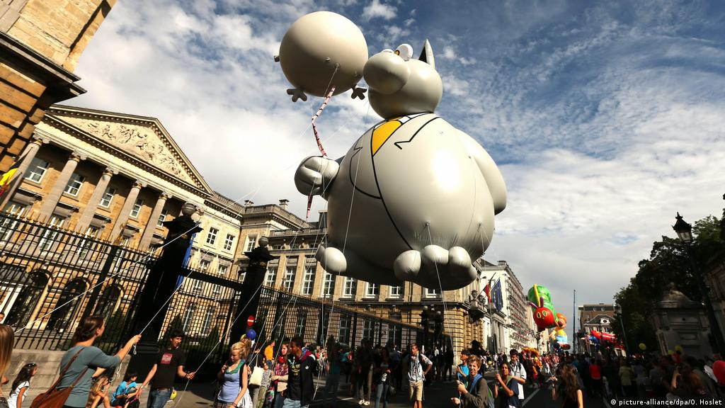 From ′Tintin′ to ′Lucky Luke′: What makes Belgian comics so