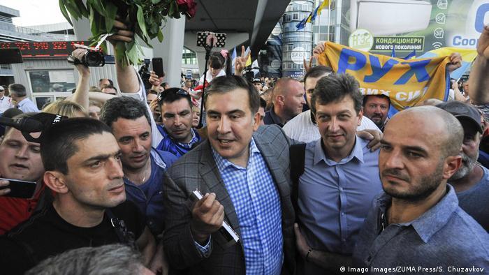 Партия Саакашвили допущена на выборы в Раду Украины