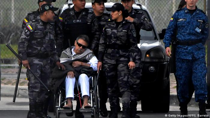 Kolumbien | Ehemaliger Farc-Führer nach Haftentlassung erneut festgenommen (Getty Images/AFP/J. Barreto)